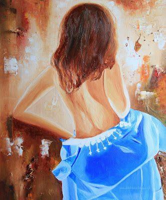 peinture à l'huile femme
