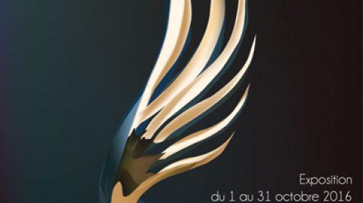 Affiche dégradé de couleurs réalisée avec illustrator, réalisée pendant ma formation.