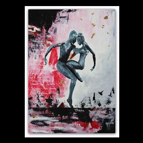 peinture avec deux danseurs