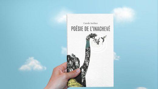Illustration d'un recueil-Poésie de l'Inachevé - Carole Sorbier